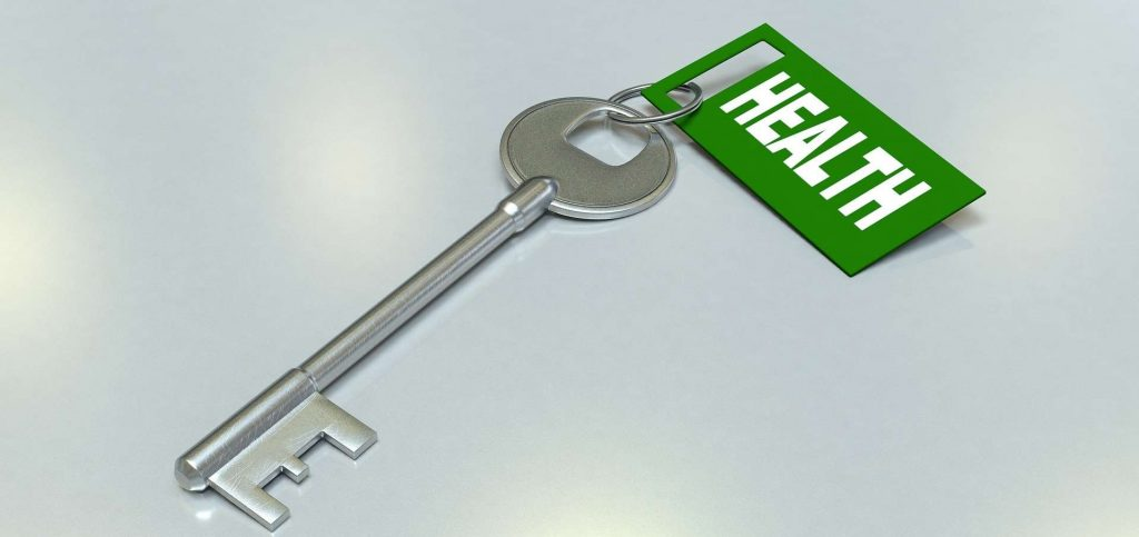 image for key to health